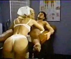 Nina Hartley Nailed as Nurse
