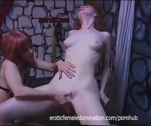 Rough domme has her joy with..