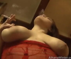 POV Smoking Railing Fuck..